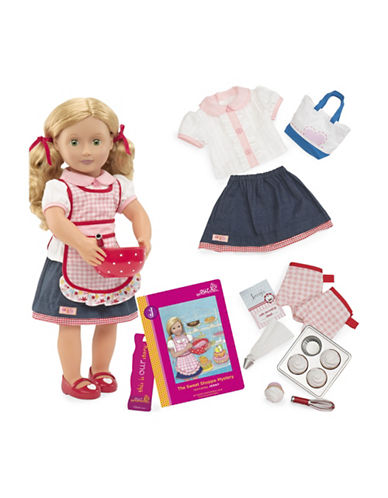 Our Generation Deluxe Jenny Doll with Book-MULTI-One Size