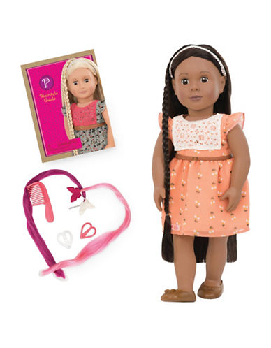 Our Generation Zuri Doll and Hairstyle Guide Book-MULTI-One Size