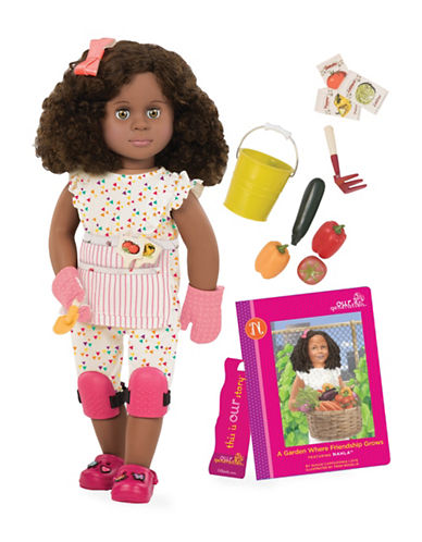 Our Generation Deluxe Nahla Doll with Book-MULTI-One Size