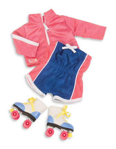 Our Generation Roller Skater Outfit-MULTI-One Size