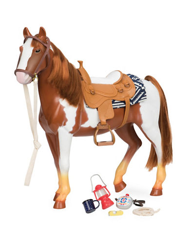 Our Generation Trail Riding 20-Inch Horse-MULTI-One Size