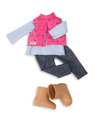 Our Generation Vest and Jeggings Doll Outfit-MULTI-One Size