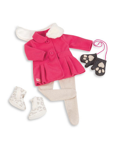Our Generation Deluxe Winter Coat Outfit Set-MULTI-One Size