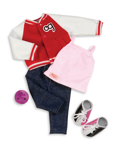 Our Generation Deluxe Bowling Jacket Outfit-MULTI-One Size