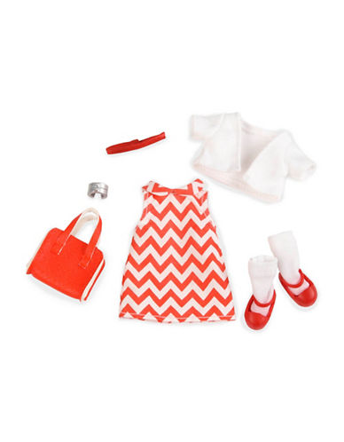 Lori Lori Doll Chevron Dress Outfit-MULTI-One Size