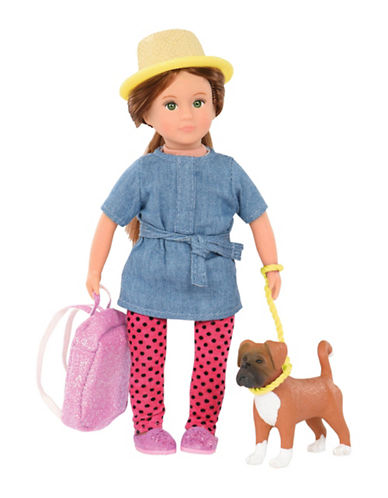 Lori Nadene Doll with Boxer-MULTI-One Size