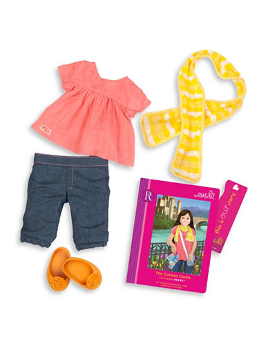 Our Generation Reeses Book and Outfit Set-MULTI-One Size