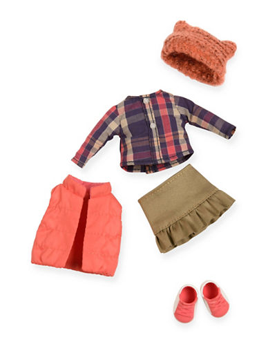 Lori Puffer Vest Doll Outfit-MULTI-One Size