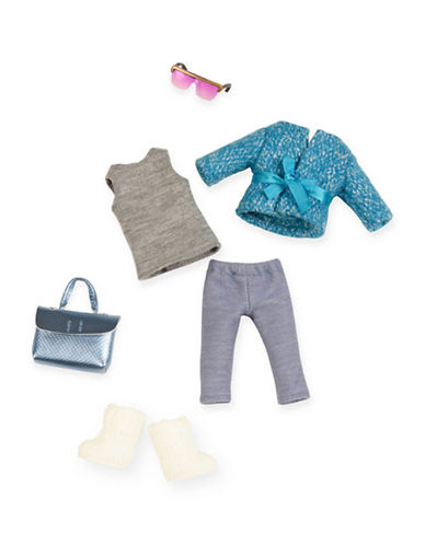 Lori Furry Coat Doll Outfit-MULTI-One Size