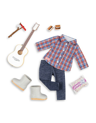 Our Generation Deluxe Camping Outfit Set-MULTI-One Size