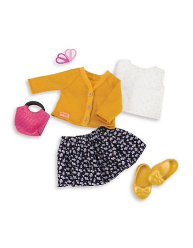 Our Generation Deluxe Sweater with Basket Purse Set-MULTI-One Size