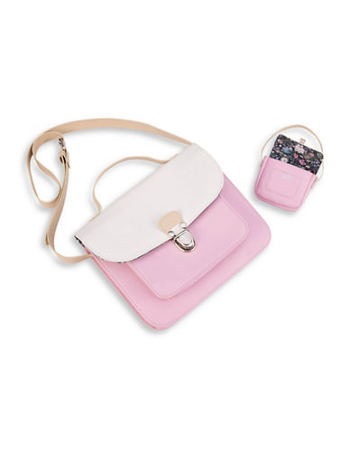 Our Generation Pink Satchel Set-MULTI-One Size