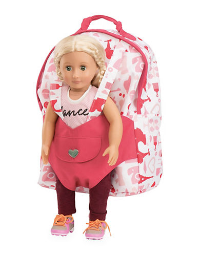 Our Generation Party Doll Carrier Backpack-MULTI-One Size