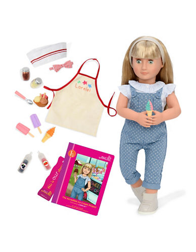 Our Generation Deluxe Lorelei Doll with Book-MULTI-One Size
