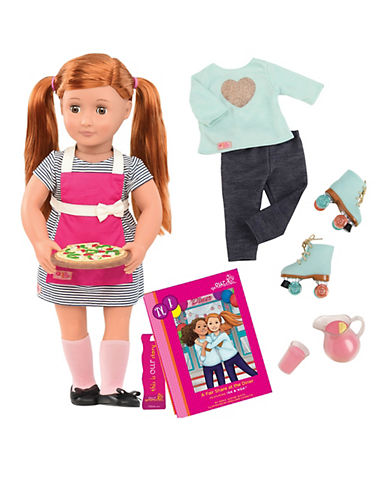 Our Generation Deluxe Noa Doll with Story Book-MULTI-One Size