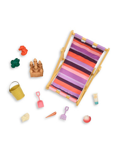 Our Generation Beach Chair and Accessories Set-MULTI-One Size