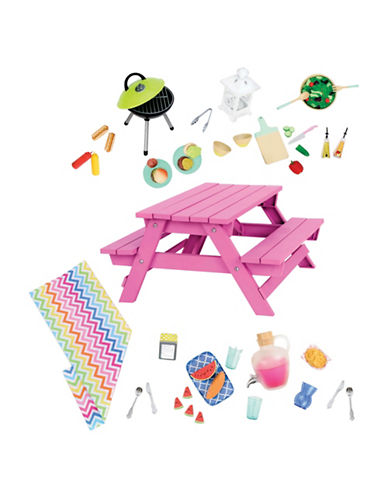 Our Generation Picnic Table Set-MULTI-One Size