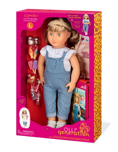 Our Generation Lorelei Deluxe Doll Set-MULTI-One Size