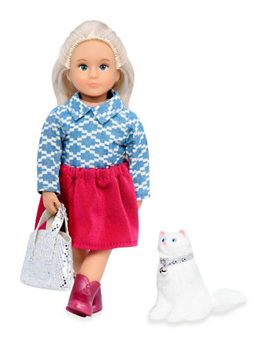 Lori Anne Mae Doll with Cat-MULTI-One Size