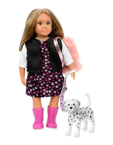 Lori Gia Doll with Dalmatian-MULTI-One Size