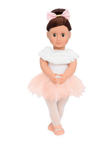Our Generation Valencia Doll with Feathery Ballet Skirt-MULTI-One Size
