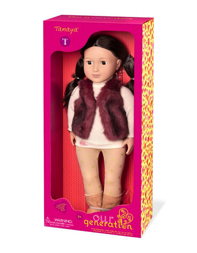 Our Generation Tamaya Doll-MULTI-One Size
