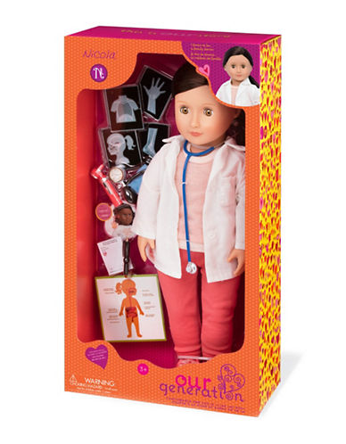 Our Generation Doctor Nicola Doll-MULTI-One Size