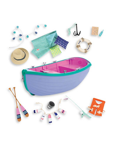 Our Generation Large Row Boat Set-MULTI-One Size