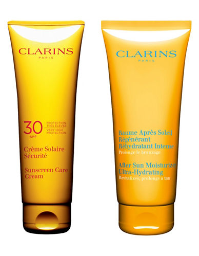 Clarins High Protection Two-Piece Sun Kit-NO COLOUR-One Size
