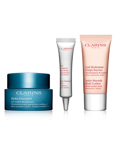 Clarins Hydra-Essentiel Three-Piece Value Set - Normal to Combination Skin-NO COLOR-One Size
