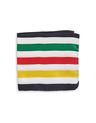 HudsonS Bay Company Silk Pocket Square-MULTI-One Size