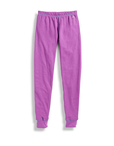 WatsonS Double Layer Long John-PURPLE-Medium
