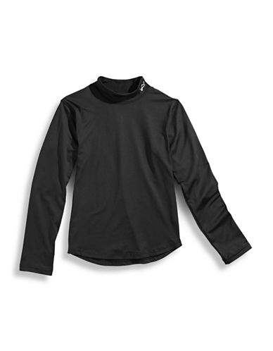 WatsonS Performance Long  Sleeve Top-BLACK-Small