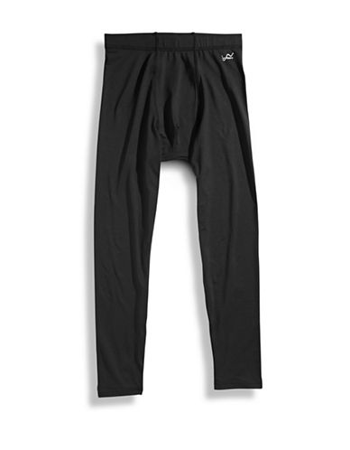 WatsonS Performance Long John-BLACK-Medium
