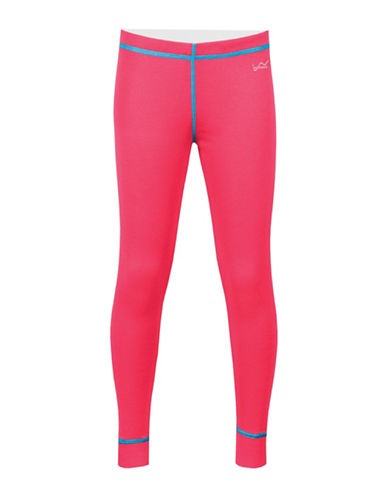 WatsonS Double Layer Base Pants-CORAL-Large