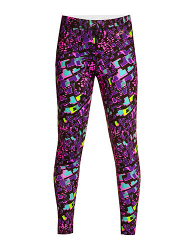 WatsonS Printed Performance Base Layer Pants-MULTI-Large