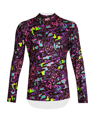 Watson'S Printed Performance Base Layer Shirt-MULTI-Small