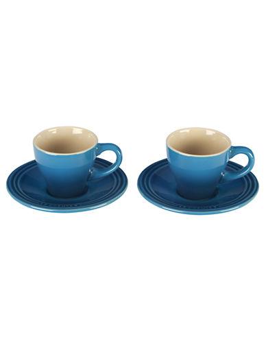 Le Creuset Four-Piece Espresso Cup Set-CARIBBEAN-0.5 86996186_CARIBBEAN_0.5