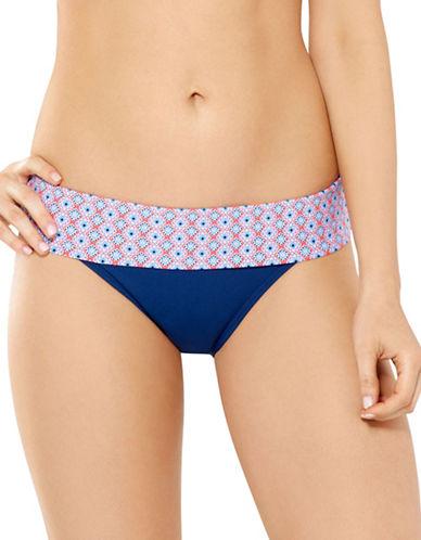 Captiva Sunset Adjustable Bikini Bottoms-MULTICOLOUR-X-Large