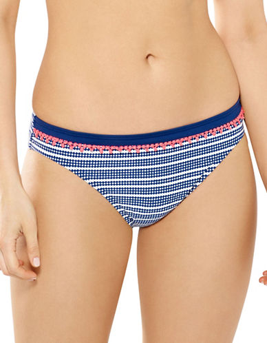 Captiva Treasure Hipster Bikini Bottoms-NAVY-X-Large