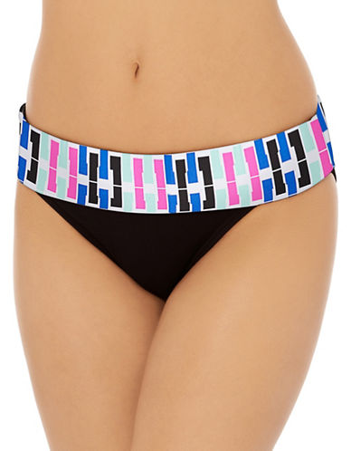 Captiva Sunset High-Waist Bikini Bottoms-MULTI-Small