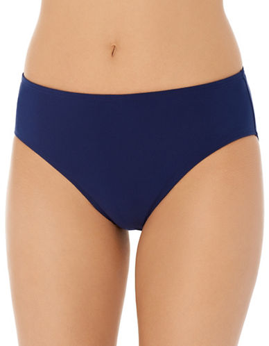 Christina Semi High Waist Brief-NAVY-8