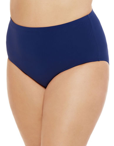 Christina Classic High-Waist Briefs-NAVY-2X