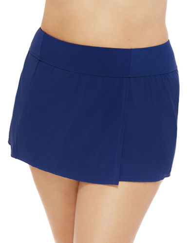 Christina Classic Swim Skirt-NAVY-3X