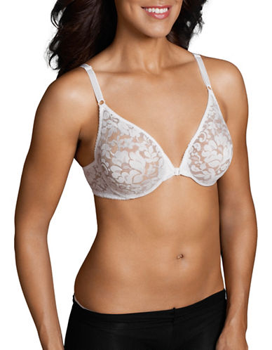 WarnerS 2593 Front-Closure Bra-WHITE-36D