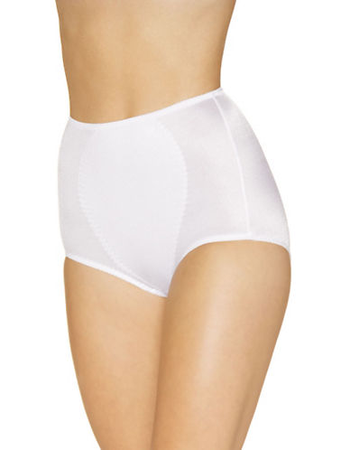 WarnerS Medium Control Full Brief-WHITE-4X