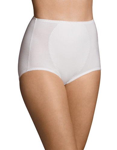 WarnerS Firm Control Full Brief-WHITE-Medium