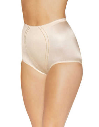 WarnerS Classic In Control High Waisted Full Brief-CAMELLIA-Large