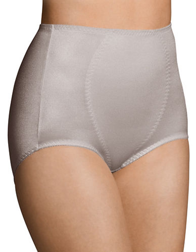WarnerS Medium Control Full Brief-MINK-Large