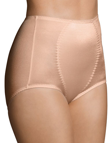 WarnerS Medium Control Full Brief-BROWN-X-Large